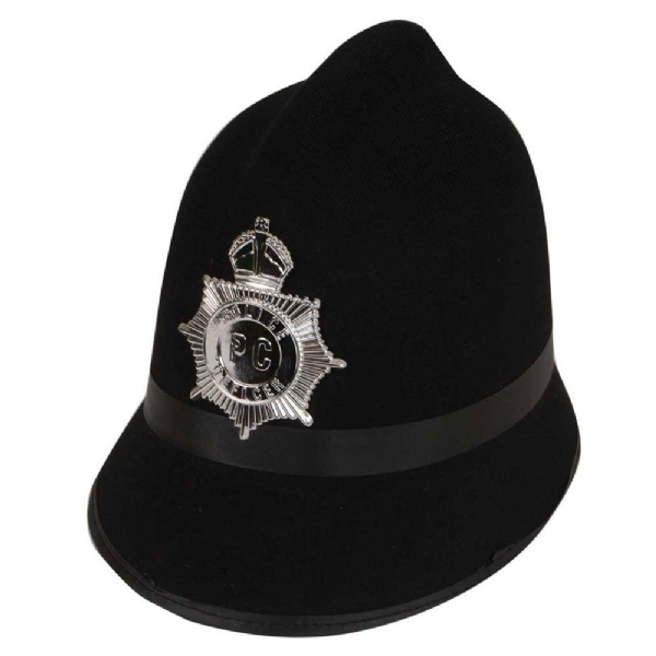 Police Hat - Traditional Helmet